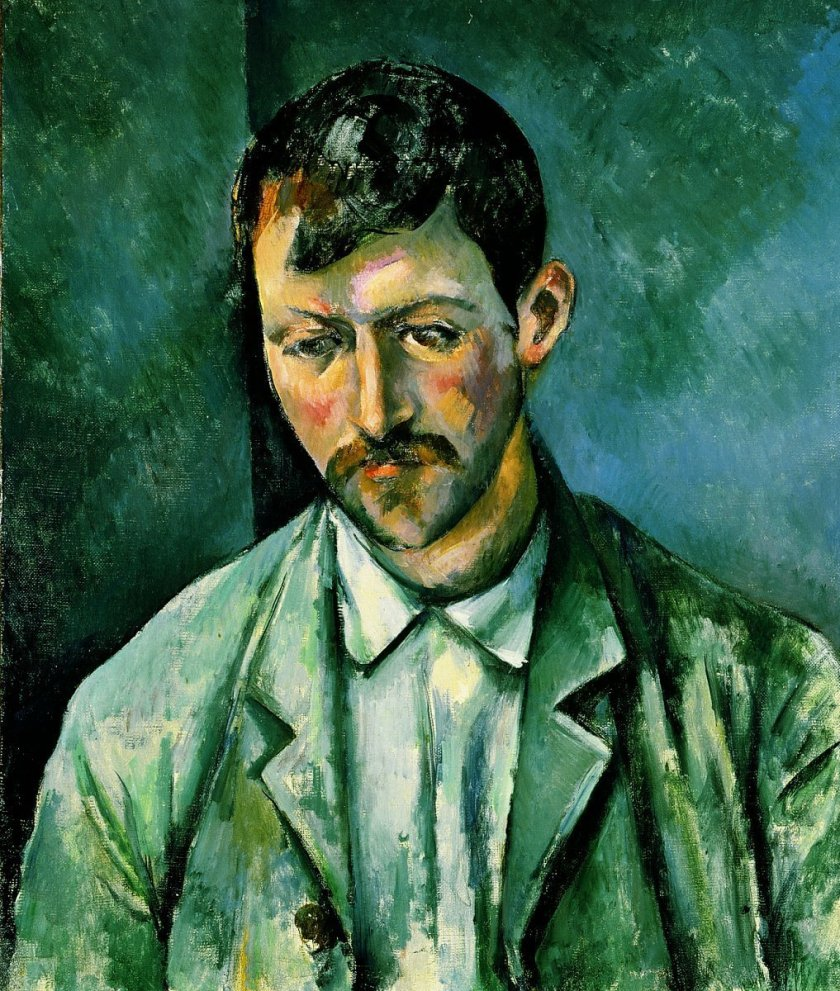 Peasant by Cézanne (c.1891)