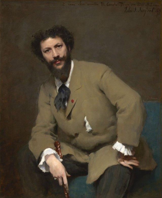 Portrait of Carolus-Duran by John Singer Sargent (1879)
