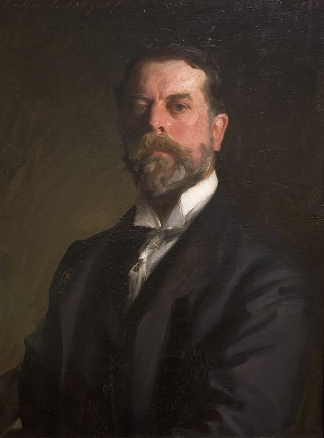 Self portrait by John Singer Sargent (1907)