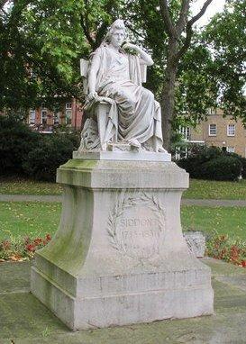 Statue of Sarah Siddons,_Paddington_Green