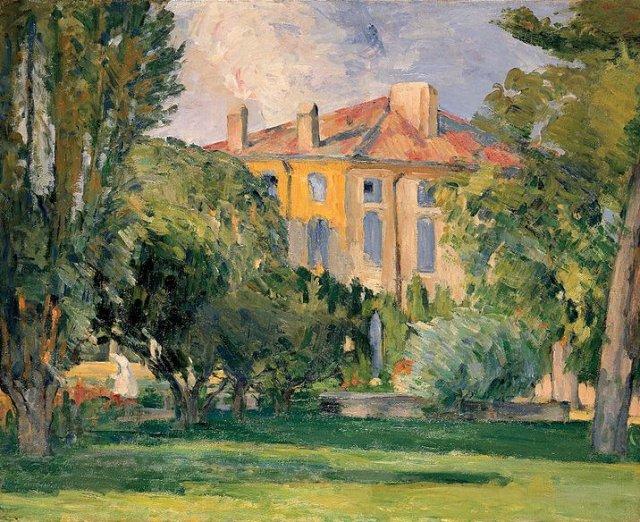 The House of the Jas de Bouffan by Cézanne (1874)