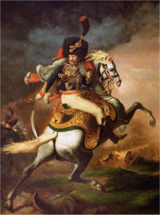 Charging Chasseur by Théodore Géricault (1812)