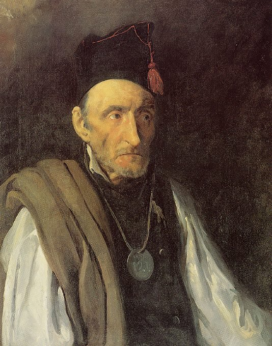 Portrait of a Man suffering from Delusions of Military Command by Théodore Géricault (1822)
