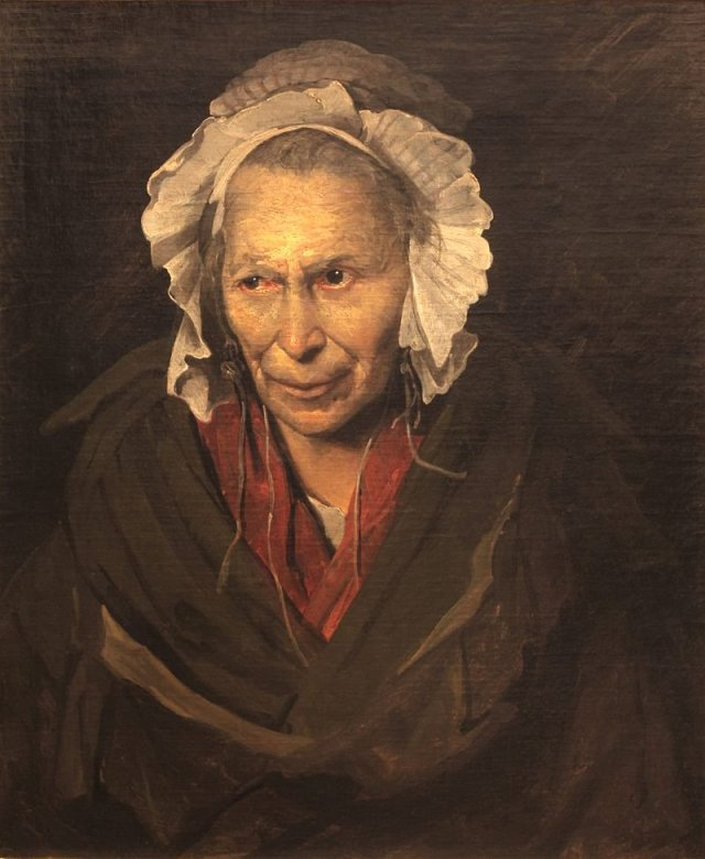 Portrait of a Woman suffering from obsessive envy by Théodore Géricault (1822)
