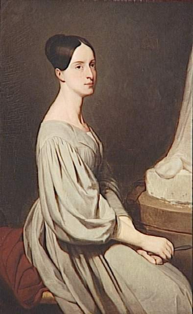 Princess Marie d'Orléans by Ary Scheffer (1831)