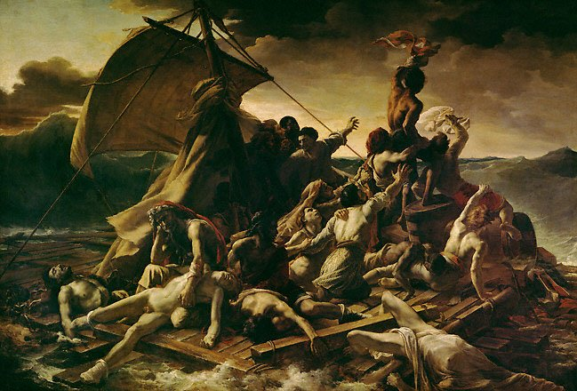 Raft of the Medusa by Théodore Géricault (1819)