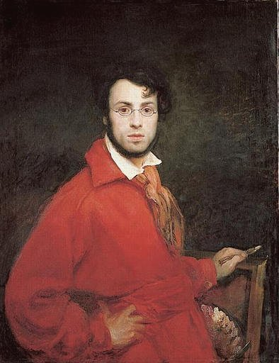 Self portrait by Ary Scheffer (1795)
