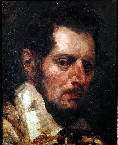 Self Portrait by Théodore Géricault