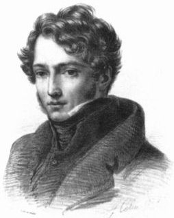 Théodore Géricault by Alexandre Colin (1816)