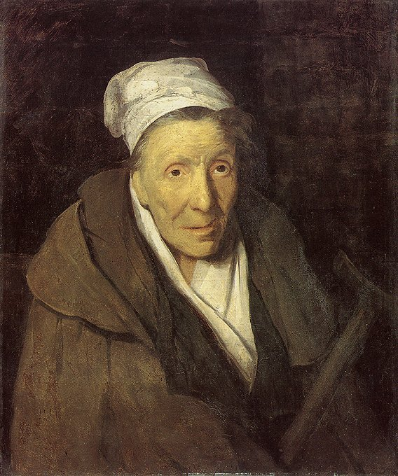 Portrait of a Woman suffering from an  Obsessive Gambling disorder  by Théodore Géricault (1822)