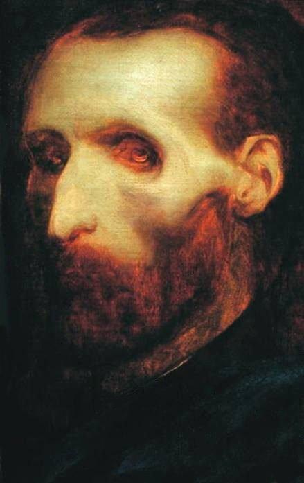 Last self portrait by Théodore Géicault (c. 1823 - 1824)