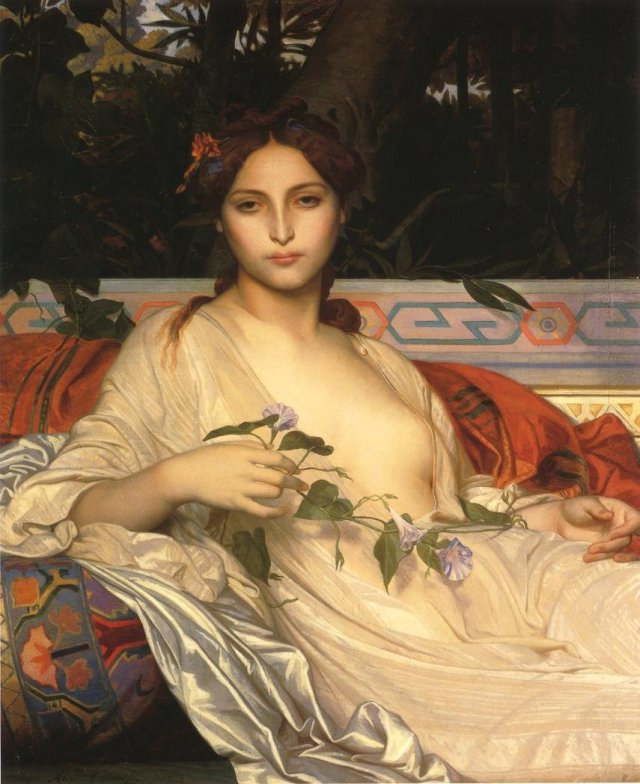 Albaydé by Alexandre Cabanel (1848)