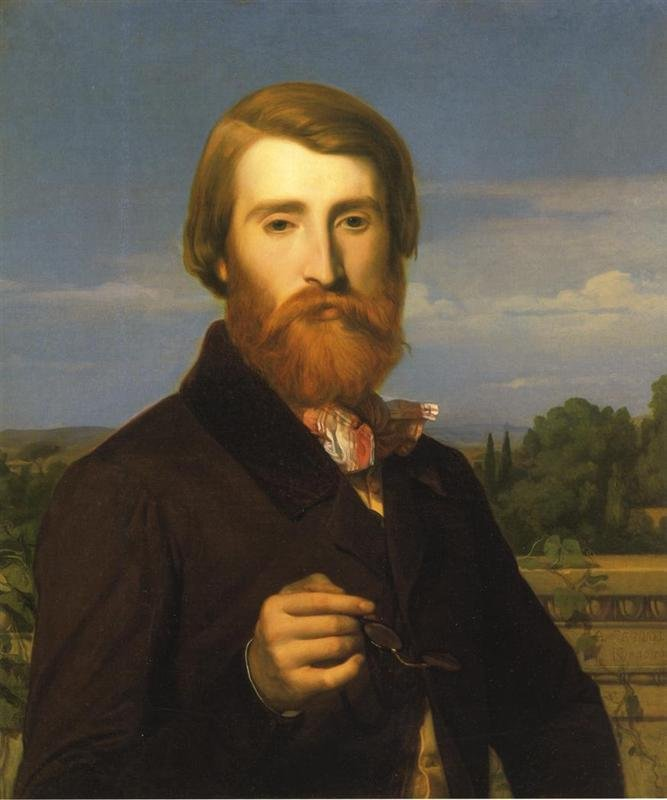 Alfred Bruyas by Alexandre Cabanel (1846)