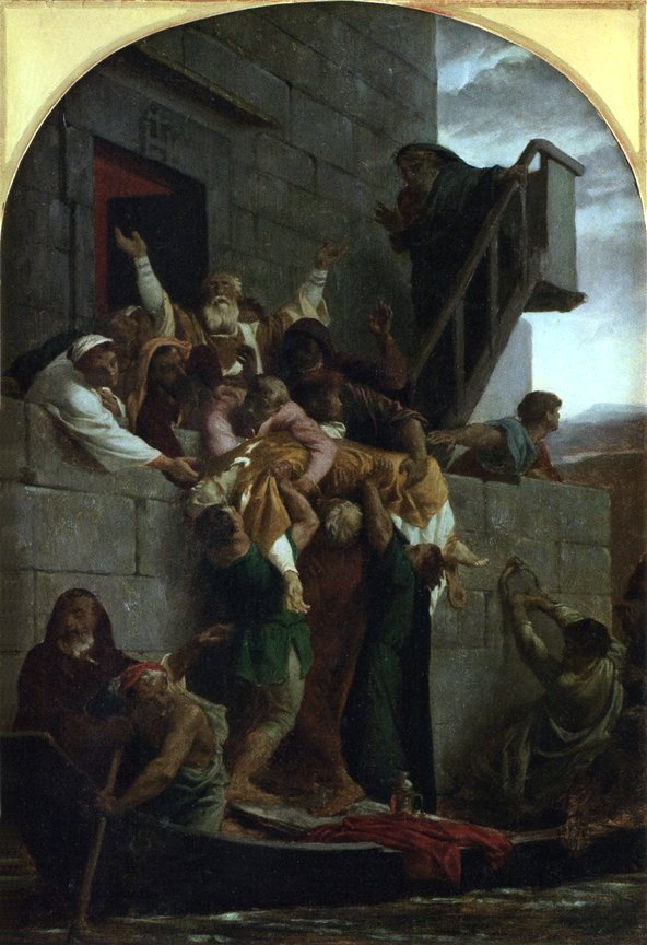Christian Martyr by Alexandre Cabanel (1855)