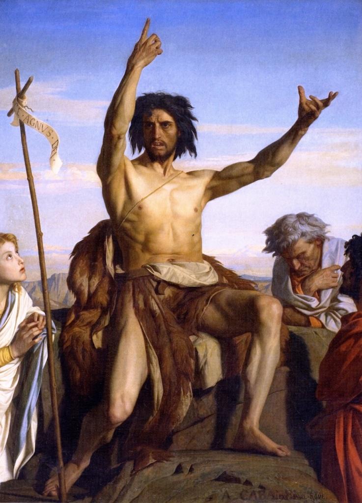 John the Baptist by Alexandre Cabanel (1849)