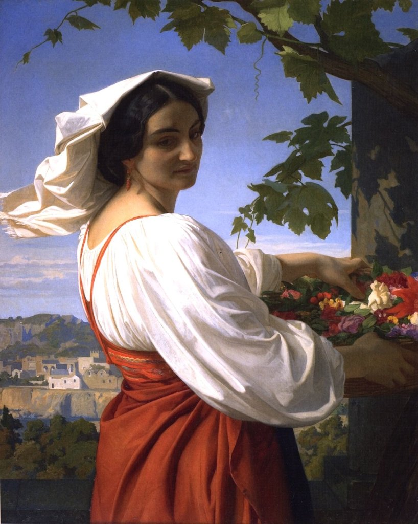 La Chiaruccia by Alexandre Cabanel (1848)