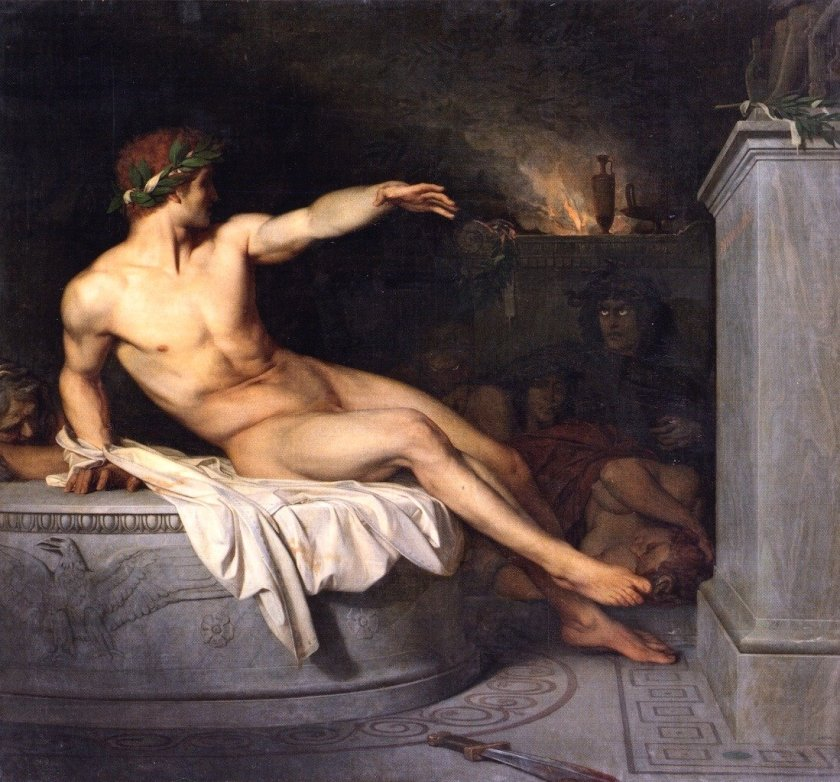 Orestes by Alexandre Cabanel (1846)