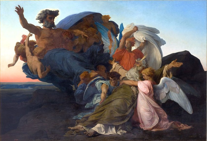 The Death of Moses by Alexandre Cabanel (1850)