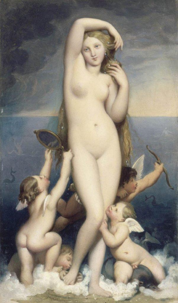 Venus Anadyomène by Ingres (c.1848)