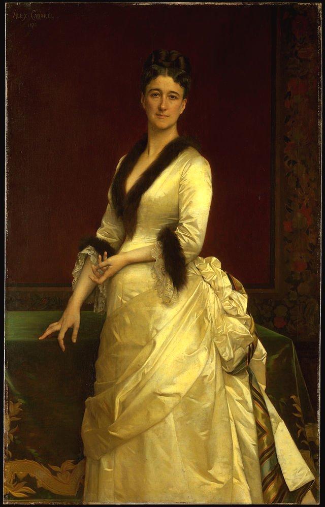 Catharine Lorillard Wolfe by Alexandre Cabanel (1876)