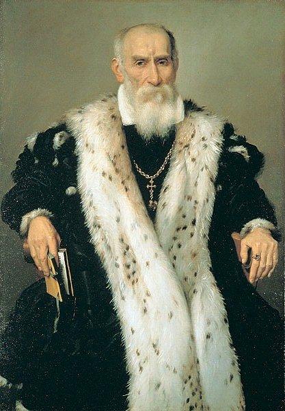 Gian Gerolamo Albani by Giovanni Moroni (1568-70)
