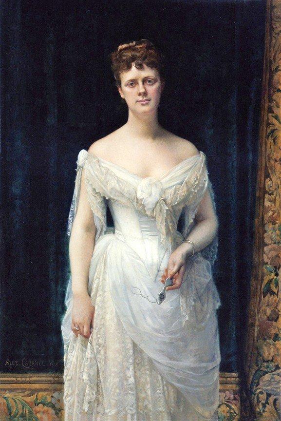 Mary Frick Garrett, by Alexandre Cabanel (1883)