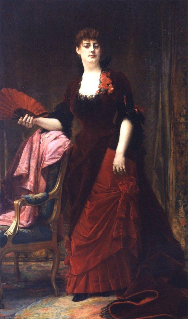 Mrs. Collis Potter Huntington by Alexandre Cabanel (1882)