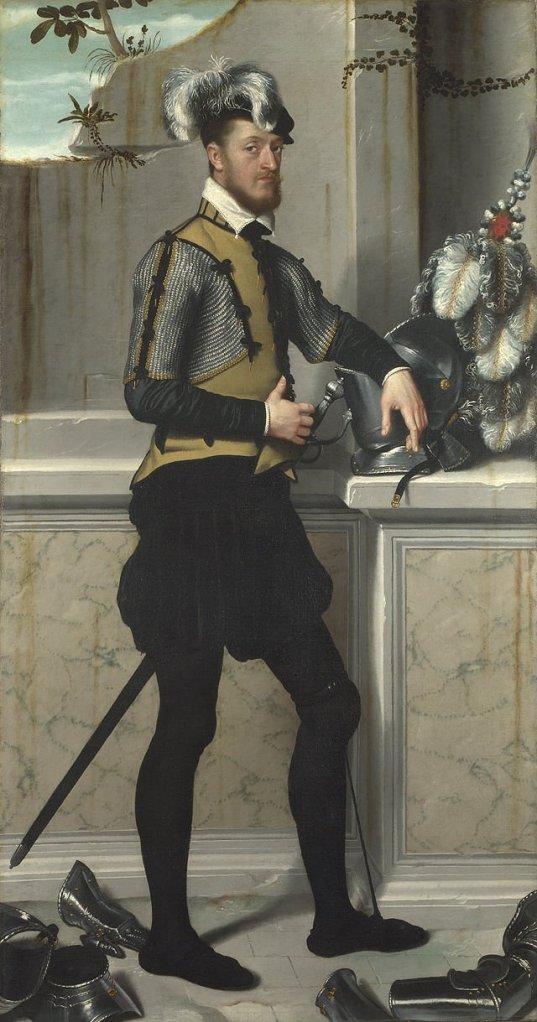 Portrait of Faustino Avogadro by Giovanni Battista Moroni (c.1555-60)
