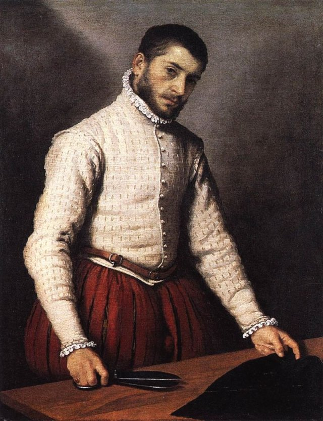 The Tailor by Giovanni Moroni (c.1570)