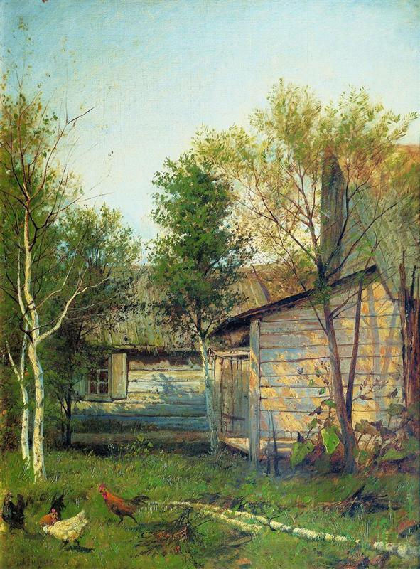 A Sunny Day, Spring by Isaac Levitan (1876)