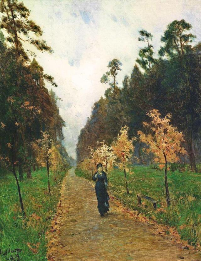 Autumn Day, Sokolniki, by Isaac Levitan (1879)