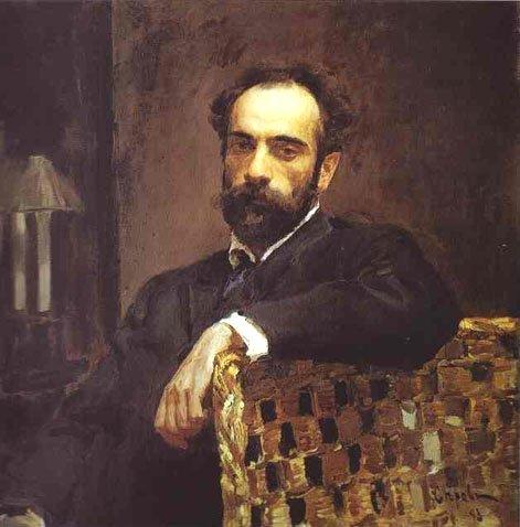 Portrait of Isaac Levitan by Valentin Serov (1883)