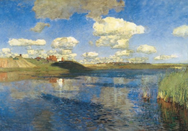 The Lake by Isaac Levitan (1890)