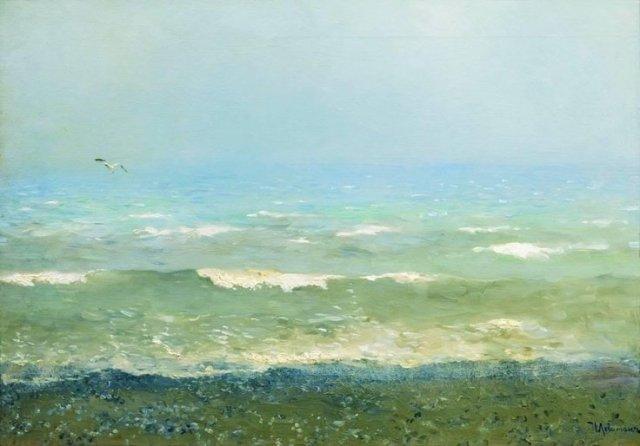 The Mediterranean Coast by Isaac Levitan (1890)