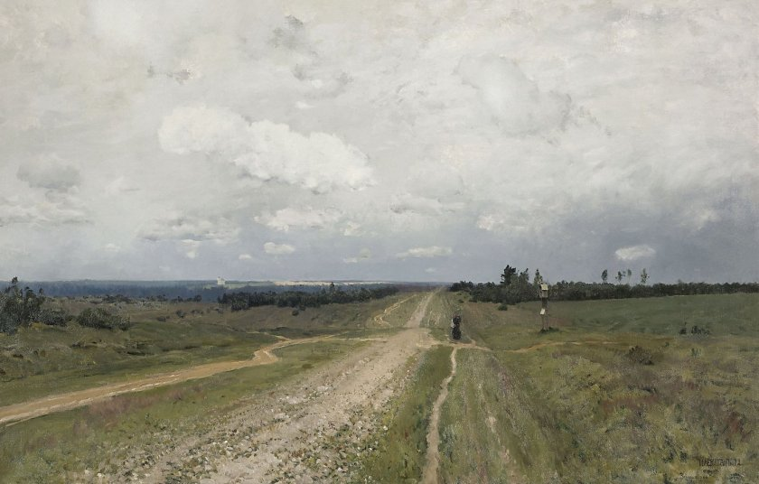 Vladimirka by Isaac Levitan (1892)