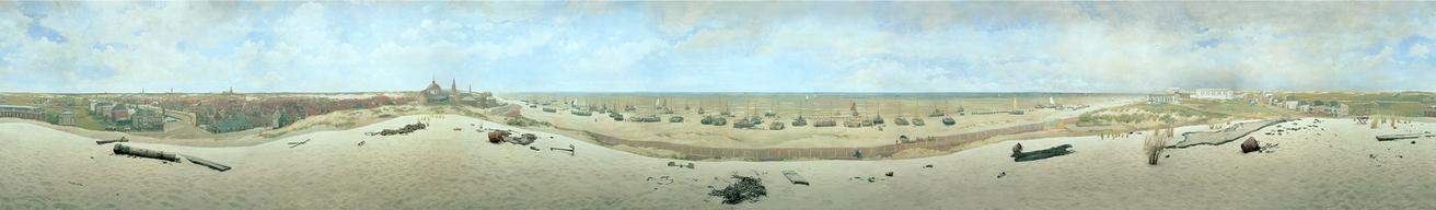 Detail from Panorama Mesdag
