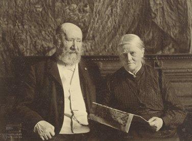 Hendrik Willem Mesdag  and his wife Sientje Mesdag-van Houten, (1906)