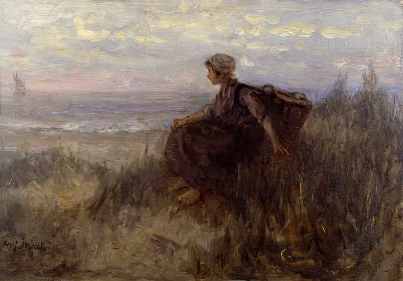 On the Dunes by Jozef Israels