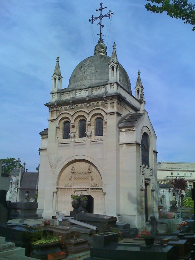 Marie Bashkirtseff's mausoleum  in Cimetière de Passy, Paris