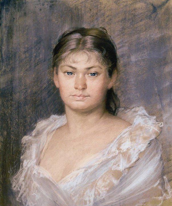 Portrait de la Comtesse Dina de Toulouse-Lautrec, by Marie Bashkirtseff (1883)