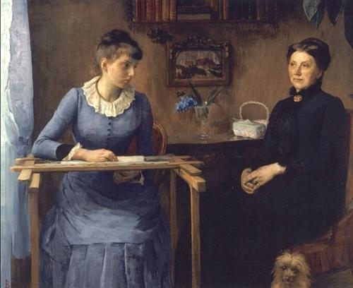 Chez soi by Louise Breslau (1885)