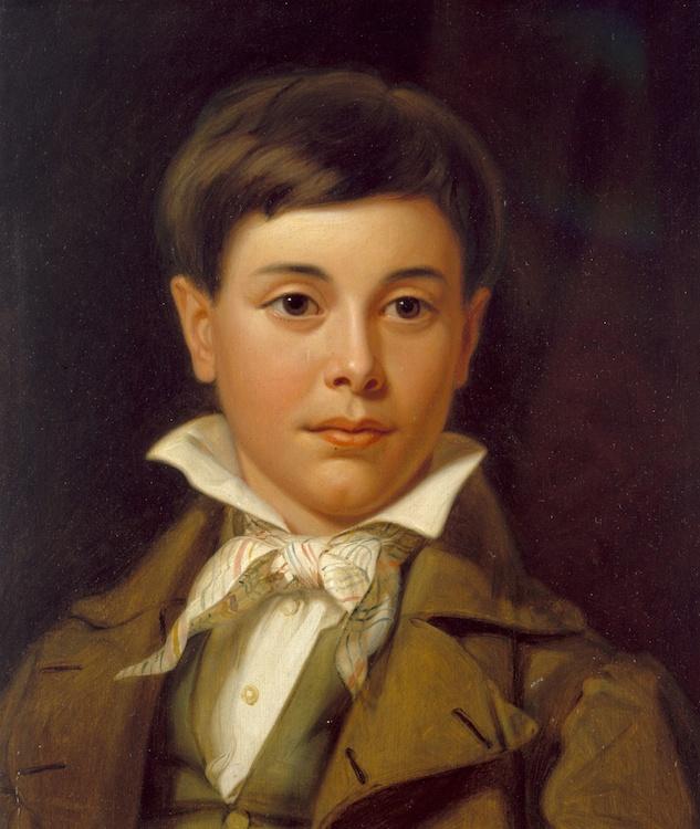 Portrait of Jedediah Williamson by William S Mount (c. 1837)