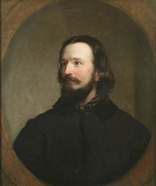 Portrait of William Sydney Mount by Charles Loring Elliott. (1848)