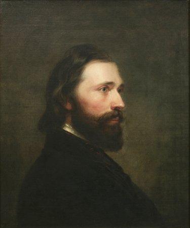 Shepherd Alonzo Mount by William S Mount (1847)