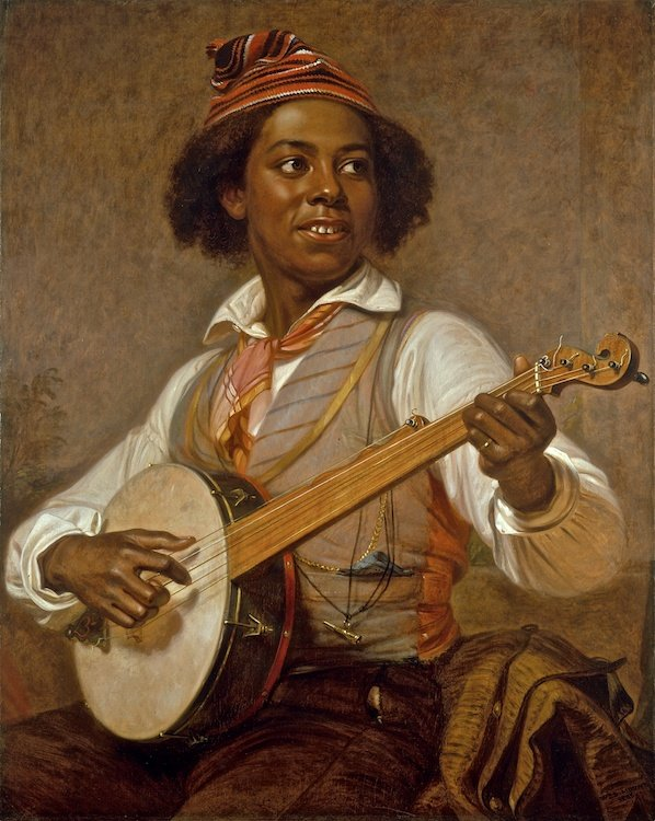 The Banjo Player by William S Mount (1856)