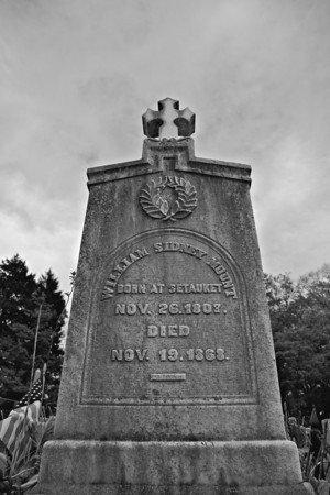 The Grave of William Sidney Mount, Caroline Church of Brookhaven, East Setauket, New York.
