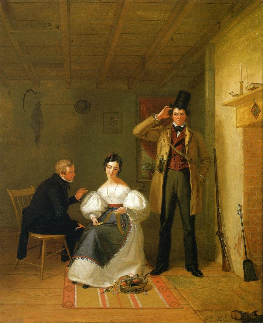 The Sportsman's Last Visit by William S Mount (1835)