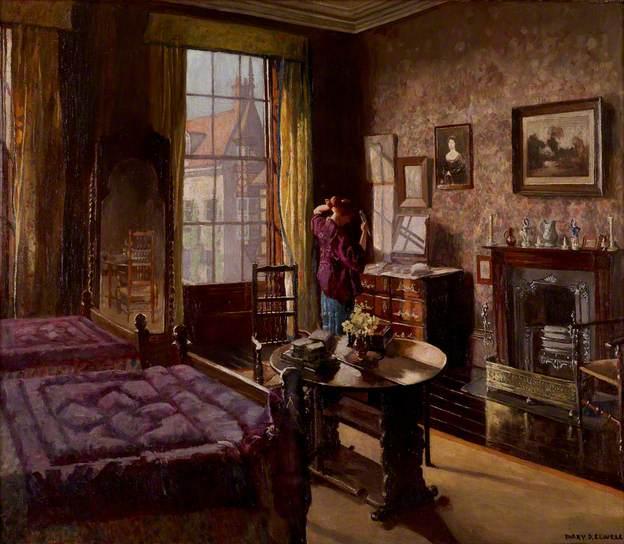 At the Mirror by Mary Dawson Elwell