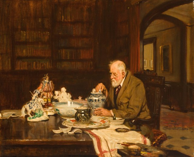 His Last Purchase by Fred Elwell (1921)