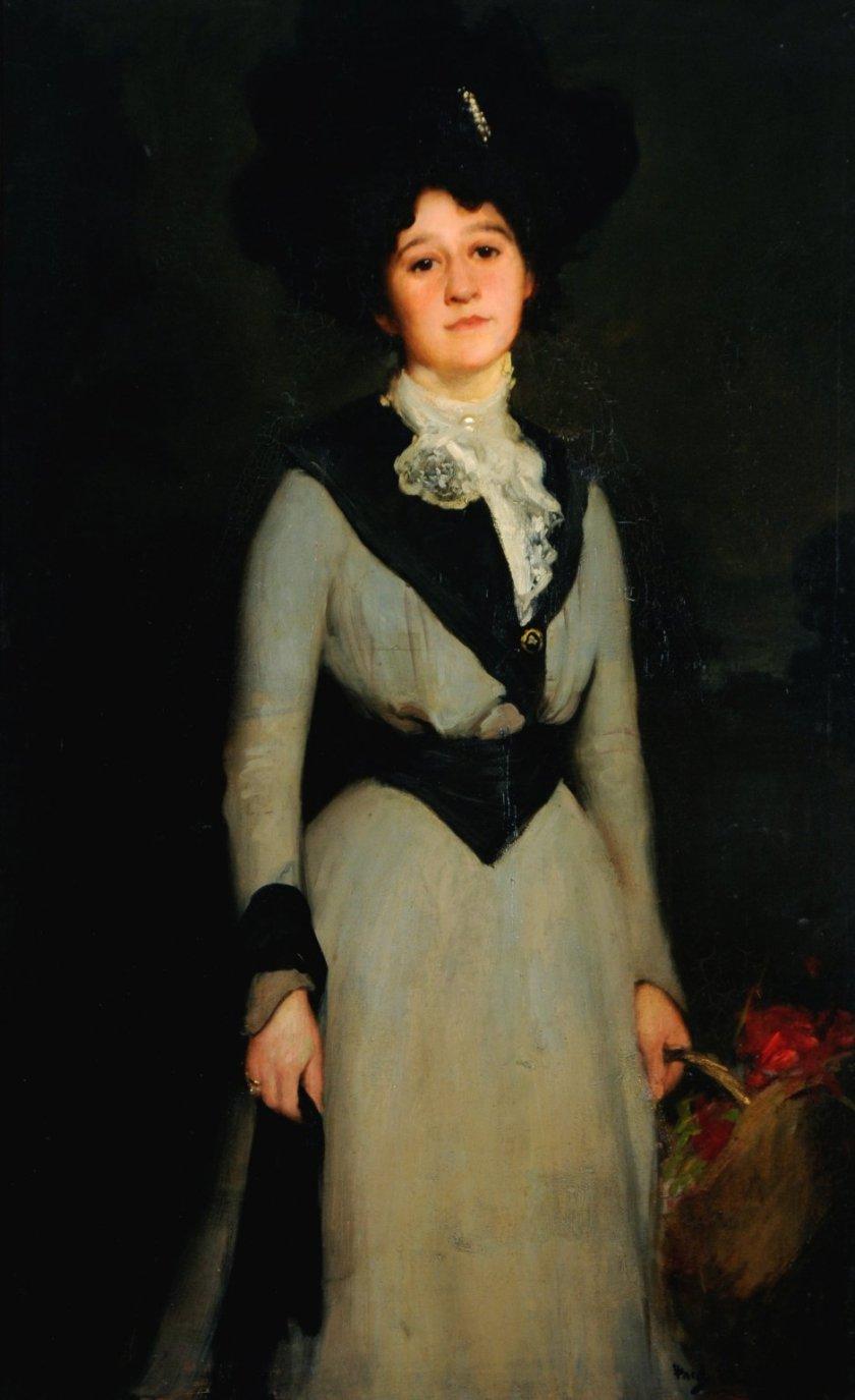 Mary Dawson Holmes by Fred Elwell (1904)
